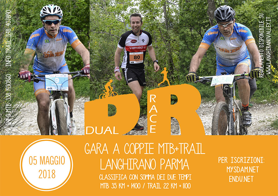Dual Race 2018 - gara a coppie MTB + Trail